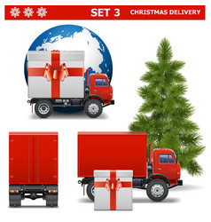 Christmas Delivery Set 3 vector