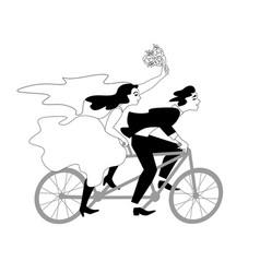 fahrrad vector image
