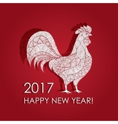 picture of a rooster vector image