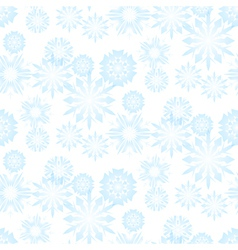 Seamless snowflake pattern for christmas vector