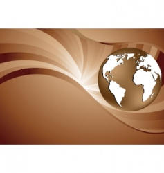 vector abstract brown background vector image