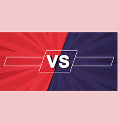 Versus screen fight backgrounds against each vector