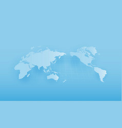 World map global warming vector