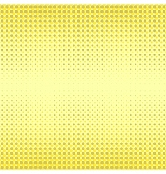 Yellow Halftone Patterns vector