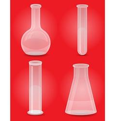 glass tube 05 vector image