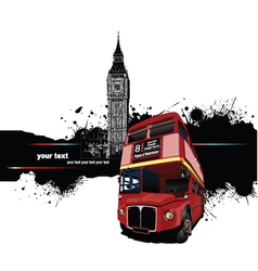 london banner vector image vector image
