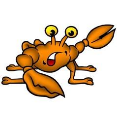 Small Crab vector image vector image