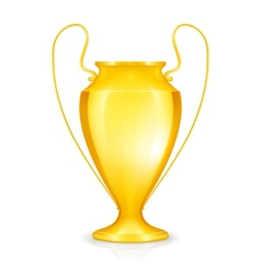 Gold Cup icon vector image vector image
