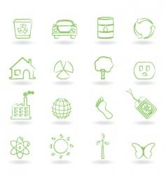 eco friendly icon vector image