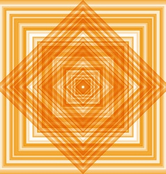 Abstract square orange pattern texture flooring vector image