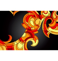 Abstract Swirls vector image