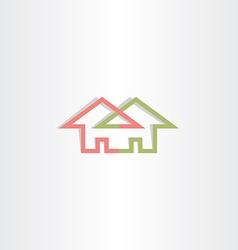 Architecture house logo icon home vector