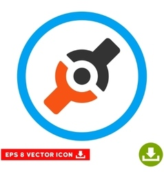 Artificial Joint Eps Rounded Icon vector