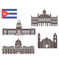 Cuba vector image