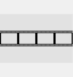 film strip design element retro design frame vector image