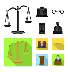 Law and lawyer logo vector