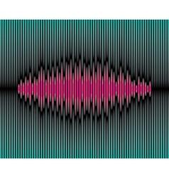 Sliced waveform background vector