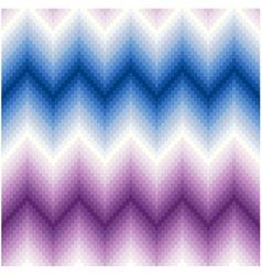 seamless pixel chevron background pattern vector image