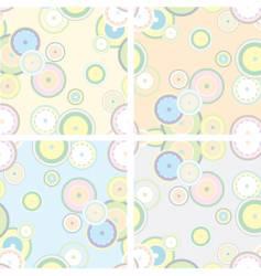 pastel retro style vector image