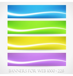 Banners for web collection11 vector image vector image
