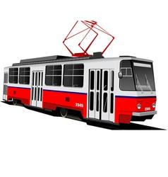 al 0604 tram 01 vector image
