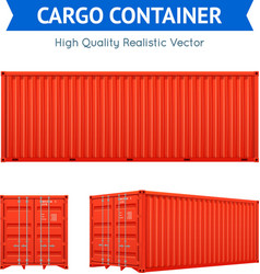 Cargo Freight Container vector