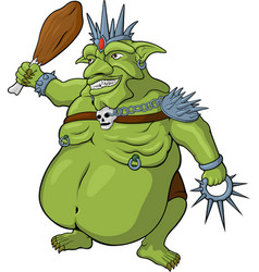 King of goblins vector