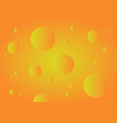 Orange abstract technology background gradient vector