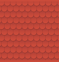 seamless pattern background tiles of the roof vector image