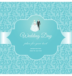 Weding pattern vector image