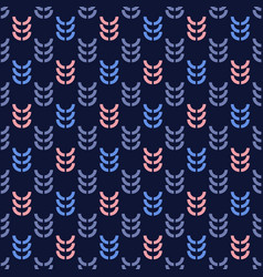 rye graphic seamless pattern vector image