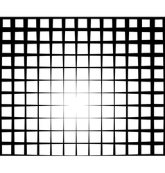 grid light effect background in black and white vector image vector image