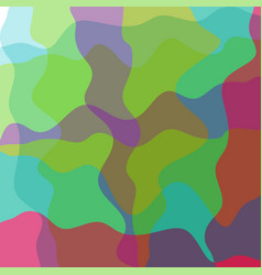 abstract wavy colorful background for design vector image