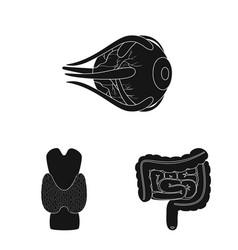 Design research and laboratory icon vector