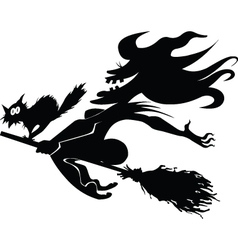 Evil witch vector