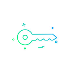 Key car safe auto icon design vector
