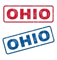 Ohio Rubber Stamps vector image