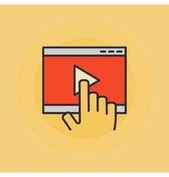 Online video vector