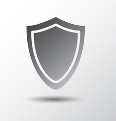 shield shape vector image