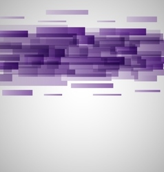 Abstract purple rectangles technology background vector image vector image