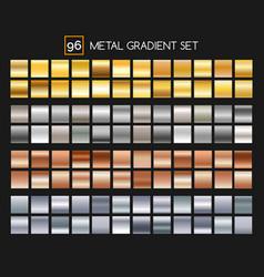 Metal gradient collection vector