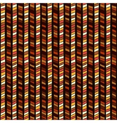 Ethnic geometric seamless pattern vector image