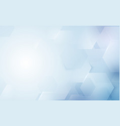 abstract repeating hexagonal shape background vector image