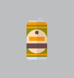beer can icon oktoberfest festival concept vector image