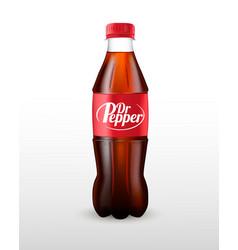 bottle soda carbonated drink vector image