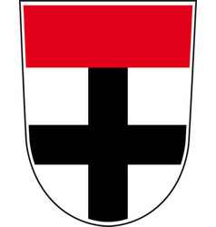 coat of arms of konstanz city in vector image