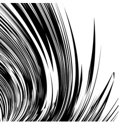 curved lines element in clipping path curved vector image