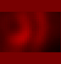 Deep burgundy red mosaic square tiles background vector