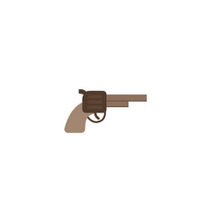 Flat icon gun element of flat vector