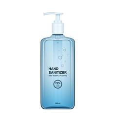 Hand sanitizer iconrealistic icon vector